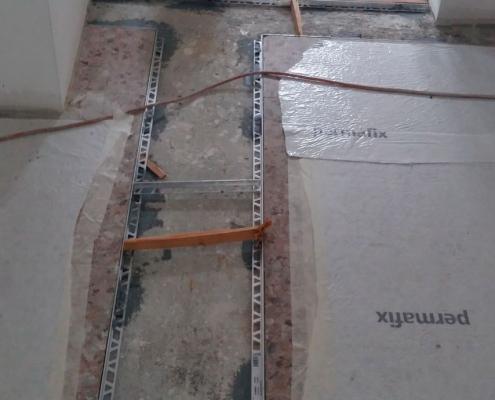 Decorazione pavimento PRIMA