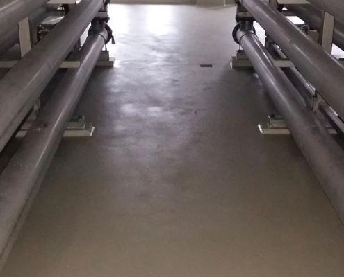 lavoro pavimento in resina